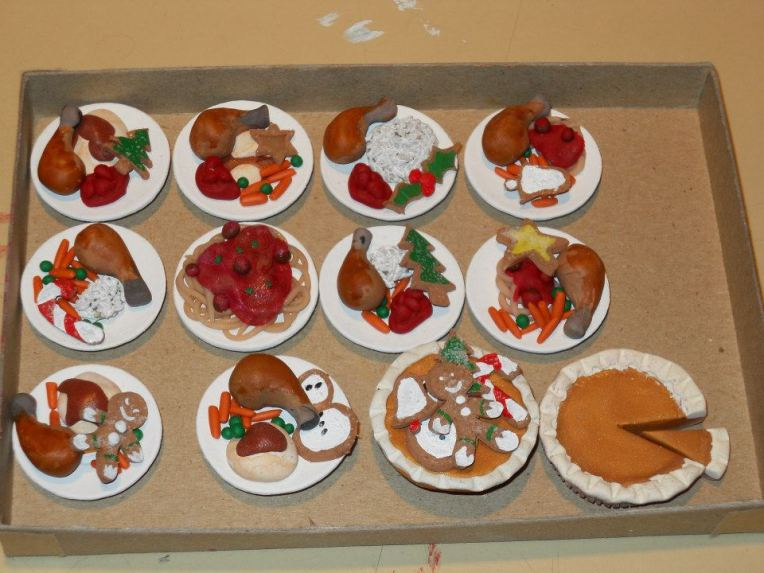 """Holiday Meals used on NBC's """"Community"""" 2010 Christmas Special"""
